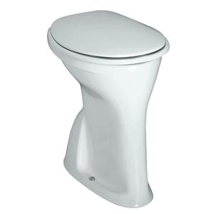 Laufen Albonova Stojící klozet, 480 x 350 mm, bílá, Stojící WC, 480x350 mm, bílá H8219980000001