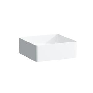Laufen Living Umyvadlová mísa, 360 x 360 mm, bílá, Umyvadlová mísa, 360 x 360 mm, bílá bez přepadu, bez otvoru pro baterii, s LCC H8114334001121