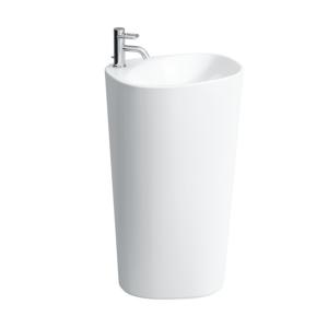 Laufen Palomba Collection Volně stojící umyvadlo, 520 x 395 mm, bílá, Volně stojící umyvadlo, 520 x 395 mm, bílá bez otvoru pro baterii H8118030001091