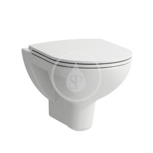 Laufen Pro Závěsné WC se sedátkem Slim, Slowclose, Rimless, bílá H8669510000001