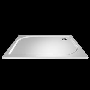 LaVilla sprchová vanička obdélník 900 x 800 x 30 bílá BEZ nožiček LA2214090080