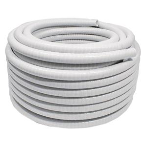 Lorema Flexibilní hadice 50/40 mm, PVC bílá, 1m 234083