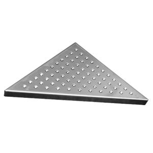 MEREO Rošt Square pro odtokový žlab Triangel, 21x21 cm, nerez CZ82