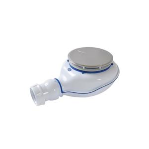 MEREO Sifon pro sprchové vaničky Turboflow 2 s vylisovaným těsněním, Ø 90 mm (PR6042C 0205700