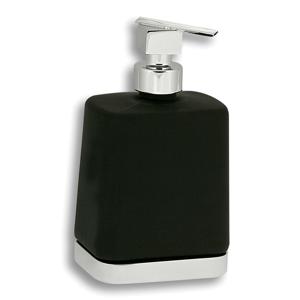 NOVASERVIS Dávkovač mýdla Metalia 4 černá-chrom 6450,5