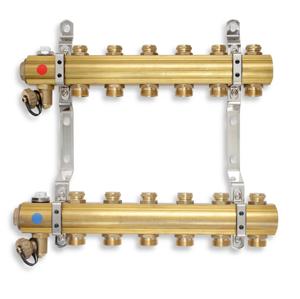 NOVASERVIS Rozdělovač s regulačními a mechanickými ventily 3 okruhy RO03S