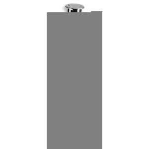 NOVASERVIS Vypouštěcí ventil jednotlačítkový plast 495,P