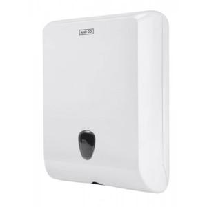 Ostatní AND GO Zásobník na skládané ručníky Maxi A4 bílá 40006000 40006000