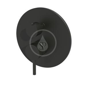 PAFFONI Light Baterie pod omítku pro 2 spotřebiče, černý mat LIG018NO