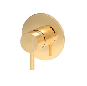 PAFFONI Light Exclusive Edition Sprchová baterie pod omítku s tělesem, zlatá LIG011HG