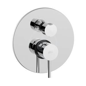 PAFFONI Light Sprchová podomítková baterie s přepínačem, 2 vývody, chrom LIG018CR