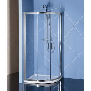 POLYSAN EASY LINE čtvrtkruhová sprchová zástěna 1100x800mm, čiré sklo EL2415