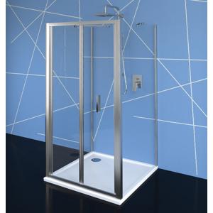 POLYSAN EASY LINE třístěnný sprchový kout 1000x900mm, skládací dveře, L/P varianta, čiré sklo EL1910EL3315EL3315