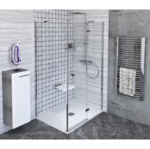 POLYSAN FORTIS LINE obdélníkový sprchový kout 800x1000 mm, R varianta FL1080RFL3510