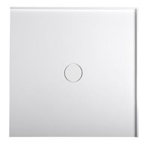 POLYSAN MIRAI sprchová vanička z litého mramoru, čtverec 90x90x1,8cm, bílá 73165