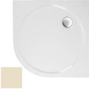 POLYSAN SONATA sprchová vanička akrylátová, čtvrtkruh 90x90cm, R550, pergamon 57411PERG