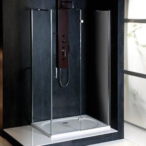 POLYSAN VITRA LINE zástěna, obdélník 1000x800mm, pravá, čiré sklo BN5415R