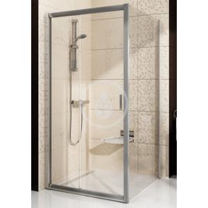 RAVAK Blix Sprchová stěna pevná, jednodílná, 870 890 mm, Sprchová stěna BLPS-90, 870-890 mm, lesklý hliník/sklo grape 9BH70C00ZG