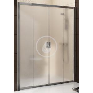 RAVAK Blix Sprchové dveře posuvné čtyřdílné BLDP4, 1370 1410 mm, Sprchové dveře posuvné čtyřdílné BLDP4, 1370 1410 mm barva bílá, sklo grape 0YVM0100ZG
