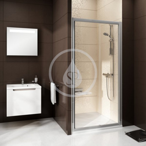 RAVAK Blix Sprchové dveře posuvné dvoudílné BLDP2, 970 1010 mm, Sprchové dveře posuvné dvoudílné BLDP2, 970 1010 mm barva satin, sklo transparent 0PVA0U00Z1