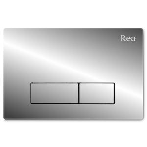REA Tlačítko pro podomítkové moduly stříbrné REA-E5691