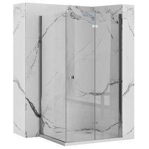 REA/S Sprchový kout BEST zalamovací dveře/stěna 70x80 BESTDS070080