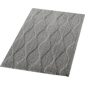 Ridder ORIENT předložka 55x50cm s protiskluzem, polyester, šedá 724807