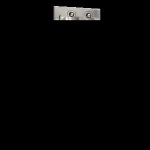 SANELA Nerez SLWN 08P Antivandalový kompakt do rohu, WC na zemi vpravo, závitové tyče SL 94082 SL 94082