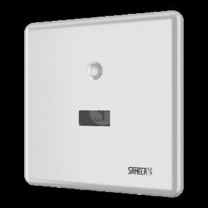 SANELA Příslušenství Automatický splachovač WC na tlakovou vodu s montážní krabicí SLW 01NK