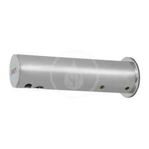 SANELA Senzorové baterie Automatická chromovaná nástěnná baterie na jednu vodu s elektronikou ALS, 6V SLU 43KB