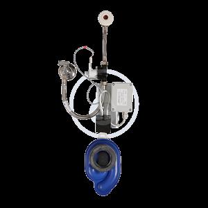 SANELA Senzorové pisoáry Univerzální radarový splachovač na liště pro bateriové napájení SLP 07B