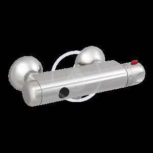 SANELA Senzorové sprchy Termostatická nástěnná sprchová baterie se spodním vývodem, chrom SLS 03S