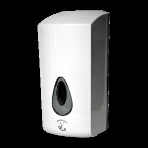 Sanela SLDN 08E Automatický dávkovač mýdla a gelové desinfekce, 1 l, bílý plast ABS, bateriové napájení 6 V SL 72081