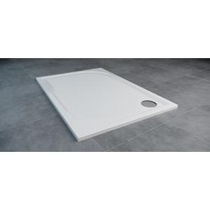 SanSwiss MARBLEMATE sprchová vanička bílá,obdélník 120x90x3 cm,1200/900/30, WMA9012004
