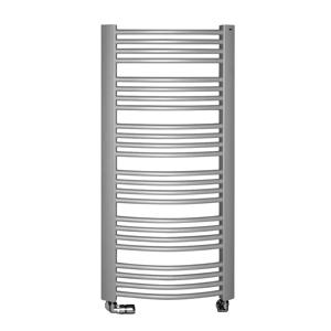 SAPHO EGEON otopné těleso 595x818mm, 486 W, stříbrná strukturální (F-609SS) EG609SS