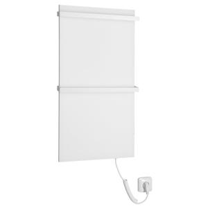 SAPHO ELMIS elektrický sušák ručníků 400x800mm,100W,bílá mat EB400