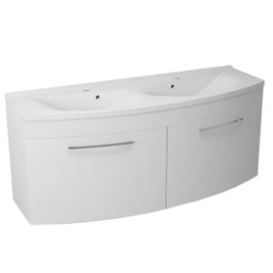 SAPHO JULIE umyvadlová skříňka 150x60x50cm, bílá 59150