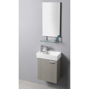 SAPHO Koupelnový set LATUS IX 44, dub stříbrný KSET-027