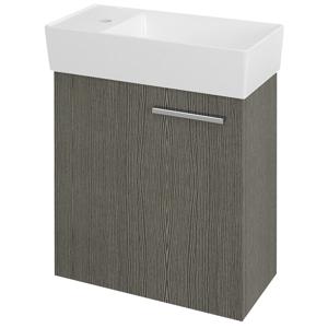 SAPHO LATUS IX umyvadlová skříňka 44x50x22cm, dub stříbrný LT092