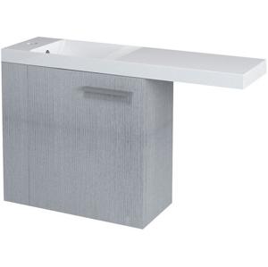 SAPHO LATUS VI umyvadlová skříňka 50x50x22cm,levá, dub stříbrný 55825