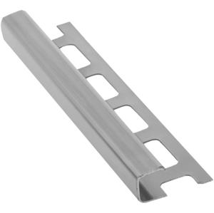 SAPHO Lišta k obkladům H, nerez pololesk, L250cm, 8mm RN801