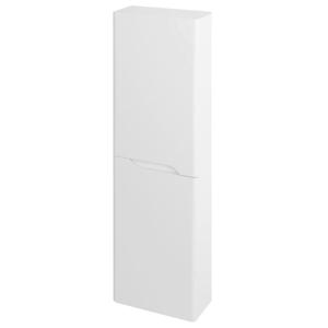 SAPHO MEDIENA skříňka vysoká 40x140x20cm, 2x dvířka, levá/pravá, bílá mat/bílá mat MD450
