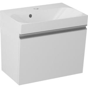 SAPHO MELODY umyvadlová skříňka 50x38x34cm + um. JOY 50cm, bílá 56050-SET