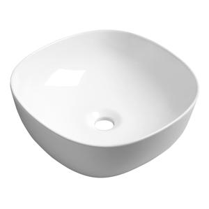 SAPHO MORO keramické umyvadlo 42x14,5x42 cm, na desku AR420