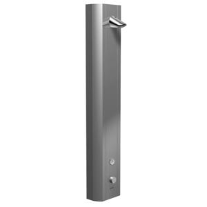 SCHELL Linus Sprchový panel, termostat, CVD elektronika, eloxovaný hliník 008190899