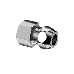 """SCHELL T 233 1/2""""x10mm přípoj vnitřní, chrom 1/2""""vni x 3/8""""vně S064120699 S064120699"""