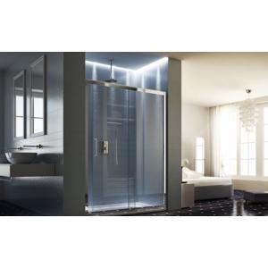 Sprchové dveře HOPA MAYA Barva rámu zástěny Hliník bílý, Provedení Univerzální, Výplň Čiré bezpečnostní sklo 6 mm, Šíře 170 cm BLMA108BC