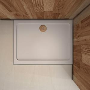 STACATO ETERMY sprchová vanička z litého mramoru, obdélník Rozměr obdélníku: 800x760mm ET680