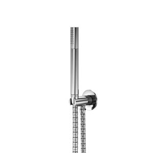 STEINBERG Sprchová souprava, chrom (držák ruční sprchy s přívodem vody, ruční sprcha, kovová hadice) 100 1670