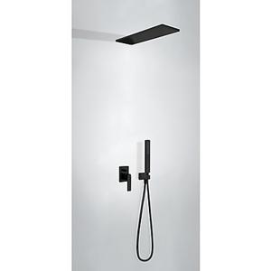 TRES Podomítkový jednopákový sprchový set s uzávěrem a regulací průtoku 20218003NM